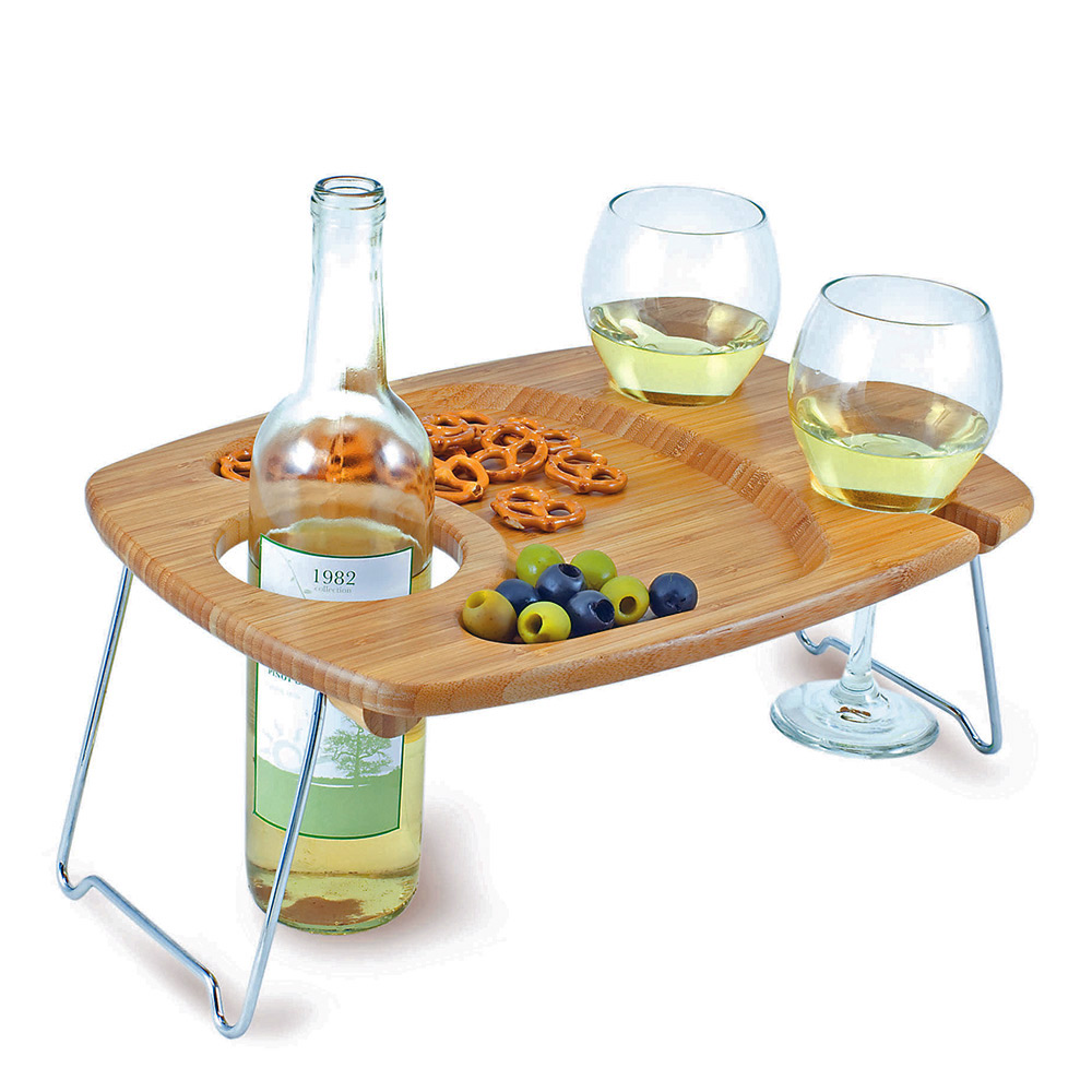 it is a good choice for you to use wine serving tray.