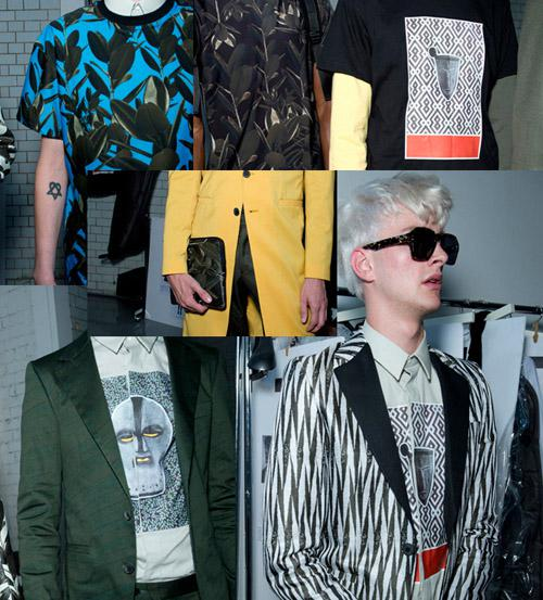 men's clothing on fashion week
